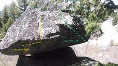 Rock Climbing Photo: Turning impaired?