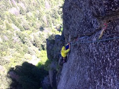 Rock Climbing Photo: 5th pitch