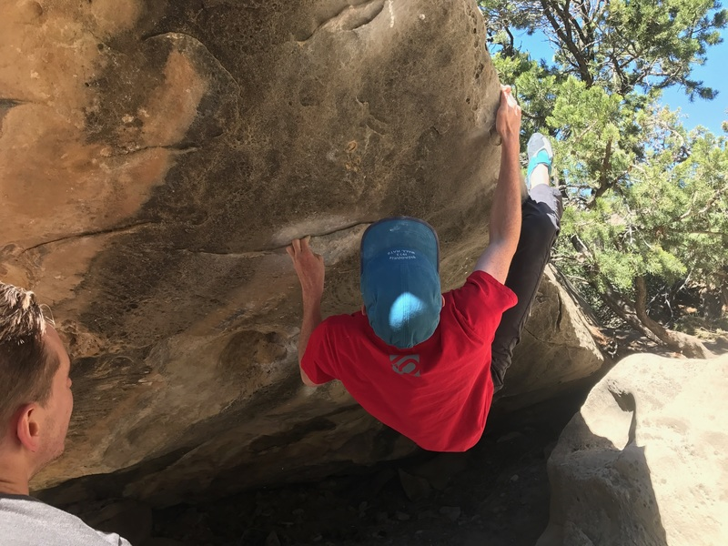 Rock Climbing Photo: Cruising through the best V5 in Joe's.