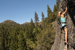 Rock Climbing Photo: Stellar views for the ascent.