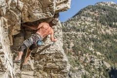 Rock Climbing Photo: Solar cave climb