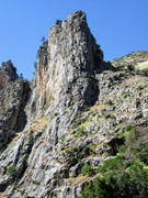 Rock Climbing Photo: SE Arete of Windy Cliff/Windy Peak as seen from th...
