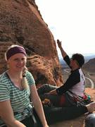 Rock Climbing Photo: My wife giving me sass as I'm explaining the next ...
