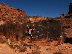 Rock Climbing Photo: Veeery hot day.