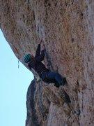 Rock Climbing Photo: Say YES to steep limestone jugs!