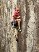 Rock Climbing Photo: Sandor Nagy on Sunnyside Up.