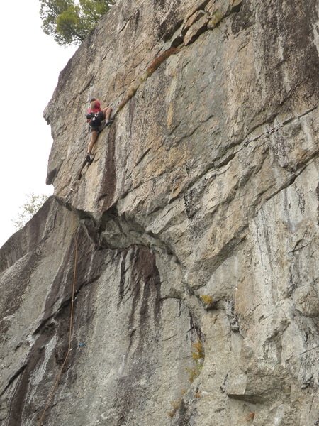 Rock Climbing Photo: Sandor Nagy on High Noon.