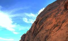 Rock Climbing Photo: Sea of rock.  Photo by Aaron Turley