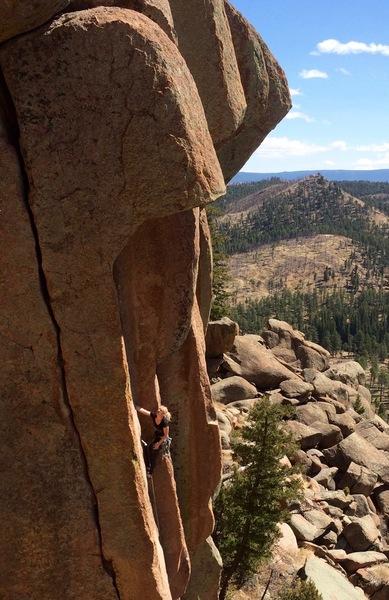 Rock Climbing Photo: Photo by Bosier Parsons.