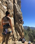 Rock Climbing Photo: Looking at One Armed Bandit