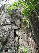 Rock Climbing Photo: White Lies Yellow Teeth.