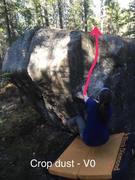 Rock Climbing Photo: Crop Dust