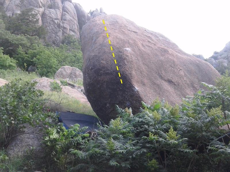 Rock Climbing Photo: How much do you believe?