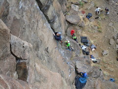 Rock Climbing Photo: Brad having a blast on Hakuna Matata
