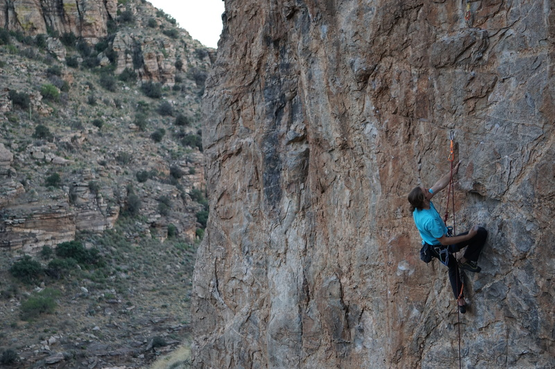 Kemper - first ascent aficionado and Russian lover.