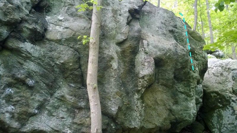 Rock Climbing Photo: Ingot (CEB)