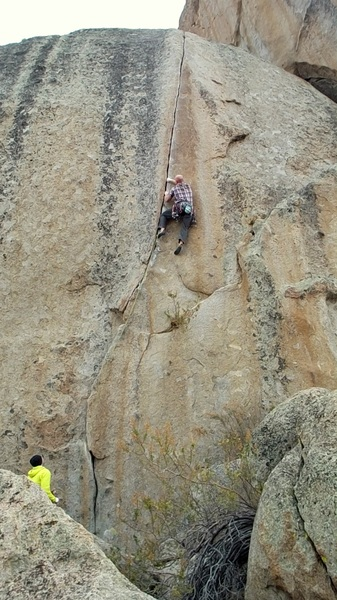 Onsighting the Espresso Crack.