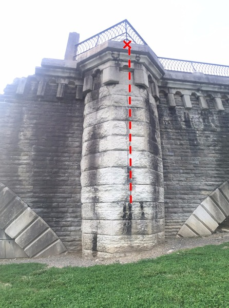 Climb only the middle face