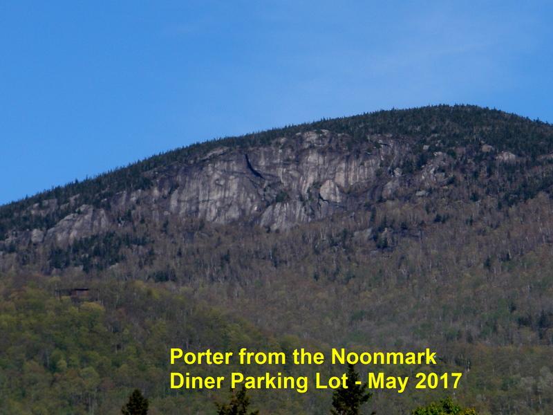 Rock Climbing Photo: Porter Mtn's East Face