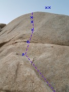 Rock Climbing Photo: Bolt ladder route
