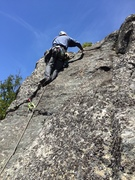 Rock Climbing Photo: RH starting pitch 2