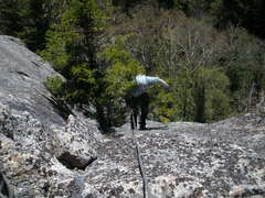 Rock Climbing Photo: SM Passing Tree #3 (Crux ?)