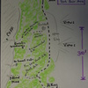 South Peak Slab Area Sketch Map