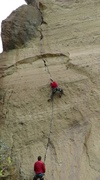A beautiful line and steeper than it looks from this angle.