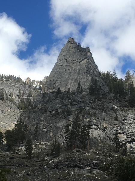 Shoshone Spire South Face