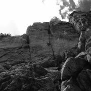 Rock Climbing Photo: Jonathan Reinig with his OS of the mega classic Da...