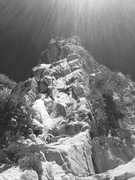 Rock Climbing Photo: Creation tower South Face!!