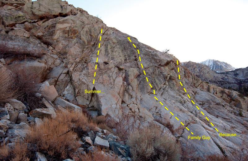 Rock Climbing Photo: Left side of La Escuela.