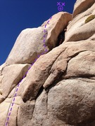 Rock Climbing Photo: Only pic I have of the route