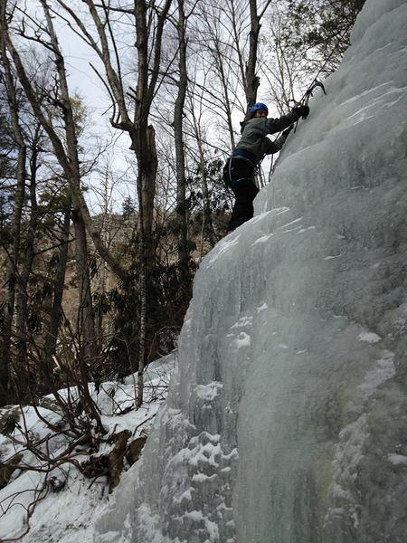 Hwy 221 Ice