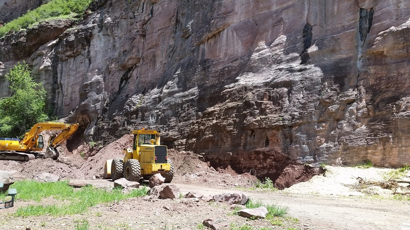 The City of Ouray is not screwing around in regards to crag expansion! May 2017.