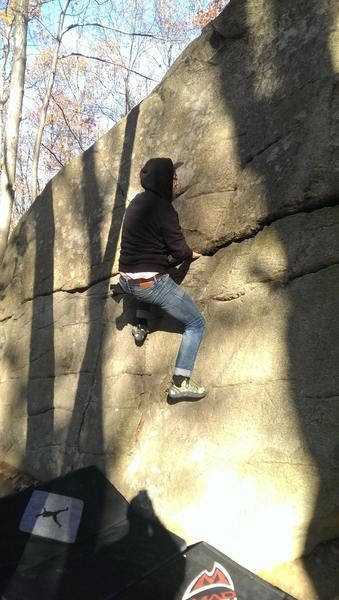 Bouldering @ Lincoln Woods State Park (RI)