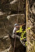 Rock Climbing Photo: Phil on Alpha One.