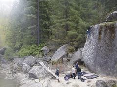 Rock Climbing Photo: early season send!