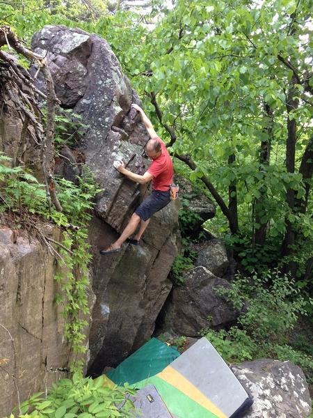 Rock Climbing Photo: Hidden Treasure.  ICB photo