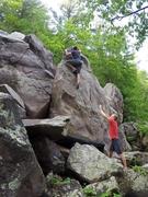 Rock Climbing Photo: Ian on XMTS