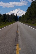 Rock Climbing Photo: Mt. Shasta from highway 89.