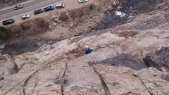 Rock Climbing Photo: Bruce on P2.