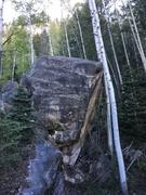 Rock Climbing Photo: Large north boulder.