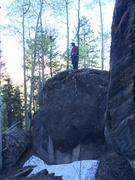 Rock Climbing Photo: Dog Boulder.