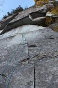 Rock Climbing Photo: Button Buck