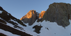 Rock Climbing Photo: The North Face of Mt. Morrison.