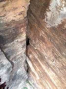 Rock Climbing Photo: Looking down P3/2