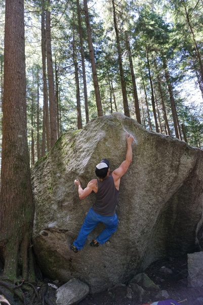 Rock Climbing Photo: Super fun 2 move wonder.
