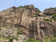 Rock Climbing Photo: Main rock face