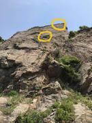Rock Climbing Photo: Another partial bolt.